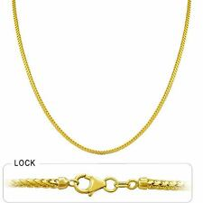 "7.60 gm 14k Solid Gold Yellow Franco Chain Women's Men's Necklace 20"" (1.50 mm)"