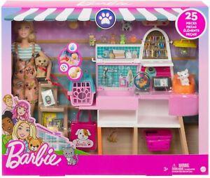 Barbie Pet Supply Store Boutique Play Set