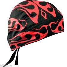 Zandana Flydana Bandana TRIBAL RED FLAME Style BIKER HARLEY