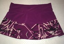 Nike womens Dri fit tennis skirt size small S Purple 598334-519
