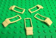 Lego X5 Pc. New Satchel Pouch Utensil Mini Figures Tan Messenger Body Wear Bag