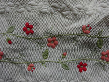 """Double Floral Bedspread  7ft 6"""" x 8ft"""