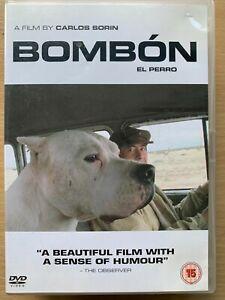 Bombon el Perro DVD 2004 Cult Argentinian Man and Dog Spanish Road Film Movie