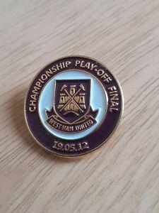 West Ham United Badge Championship Play Off Final Badge