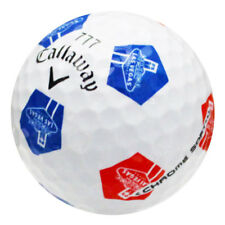 12 Callaway Chrome Soft Truvis Blue/Red Las Vegas Logo Mint Golf Balls *Sale!*