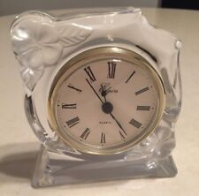 Elgin Crystal Quartz Mantel Clock