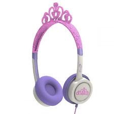 ZAGG IFROGZ LITTLE ROCKERZ KIDS COSTUME OVER-EAR HEADPHONES IN PINK TIARA