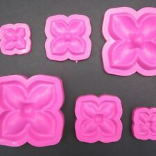 3D PLASTIC MOLDS TO CREATE ROSE FLOWER WITH EVA FOAM / FOAMY PACK OF 3 SIZES