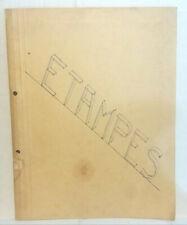 Headquarters Etampes A Book of Souvenirs PFC Walter Sedwitz 1942 Dr Hauptmann