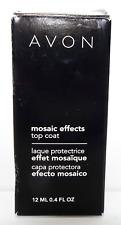 Avon Mosaic Effects Top Coat Gleaming Emerald 12 ml 0.4 fl oz Nail Polish