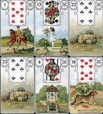 36 Karten Mlle Lenormand Deck Text Orakel Karten Tarot Kartenlegen G