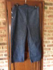 jeans pantacourt de grossesse taille 2