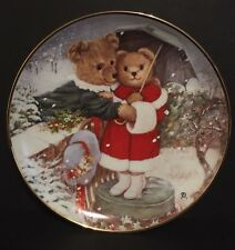 Franklin Mint Collector Plates Fur-Ever Yours By Patricia Brooks