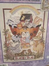 "NOAH""S ARK ~ Bucilla Counted Cross Stitch Kit"