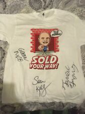 "STORAGE HUNTERS SEAN KELLY T-MONEY & GREEN MILE SIGNED ""SOLD YOUR WAY"" T-SHIRT"