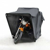 Motor Cycle Storage Tent. Motor Bike Cover, Bike Moped Mobility Scooter Shelter