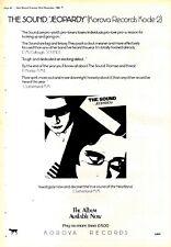 "NPBK01 ADVERT 15X11"" THE SOUND : JEOPARDY ALBUM"