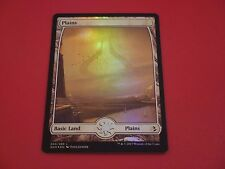 MTG MAGIC AMONKHET FULL ART PLAINS (ENGLISH PLAINE) NM FOIL