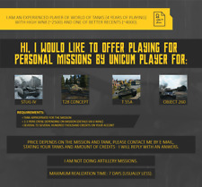 World of Tanks Personal Missions By Unicum || EU