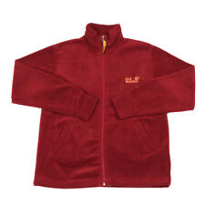 JACK WOLFSKIN Full Zip Fleece Jacket | Large | Hiking Walking Vintage