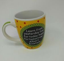 """Albert Einstein: Quoten Mug: 5"""" Blue Harbor Collection Mug"""