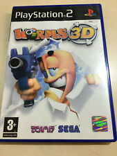 WORMS 3D for the PLAYSTATION 2 PS2