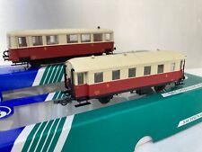 SAI/SACHSENMODELLE HO AUTORAIL SNCF 2 ESS. XDR 10201 ET SA REMORQUE EN BO
