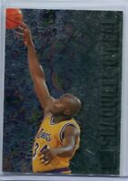 SHAQUILLE O'NEAL 1996-97 FLEER METAL PRECIOUS METALS SILVER 183 LAKERS SPP SP