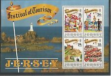 JERSEY 1990 FESTIVAL OF TOURISM MINISHEET SG,MS525 UM/M N/H LOT R59