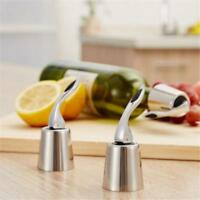 Stainless Steel Red Wine Bottle Stopper Plug Vacuum Cap Sealed Reusable HS3