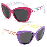 Kids Girls Cute Flower Retro Sunglasses Girls Shades UV400 Durable Age 3-10