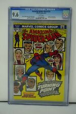 MARVEL COMICS CGC 9.6 THE AMAZING SPIDER MAN 121 6/73 WHITE PAGES