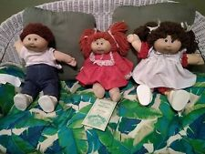 Vintage 1980's Cabbage Patch Doll Lot Original Xavier Roberts
