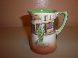 "Royal Doulton Dickens Ware ""Poor Joe"" 4 1/4"" Pitcher"