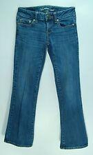 Low Flare AMERICA EAGLE Stretch Denim FAVORITE BOYFRIEND Jeans! 0 Short