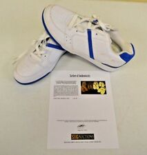 Converse All Star White Blue County sz 14 DWAYNE WADE Personal Owned Shoes COA