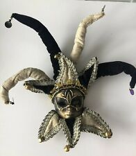 JESTER MASK WALL HANGING NEW