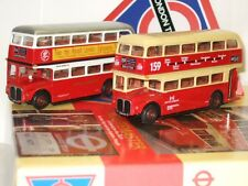 EFE 99911 - 1/76 Scale LONDON TRANSPORT Museum SET 3, 2 X AEC Routemasters