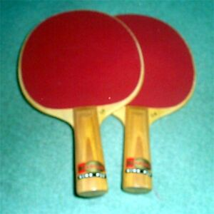 Harvard Ping Pong 10 by 6by 3/4 Inch Paddles  Offical  Table Tenis Nine Ply