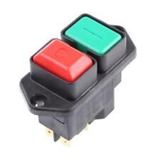 1 X Eichoff DPST ON-OFF interruptor de botón, Brida, 16 a @ 230 V AC Motor Mezclador De Sierra