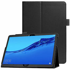 Case for Huawei Mediapad T5 10.1 2018 Leather Folio Slim Book Stand Smart Cover