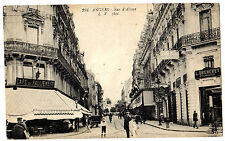 Angers FRANCE Rue d' Alsace MAIN STREET VIEW c 1908 Vintage PHOTO POSTCARD
