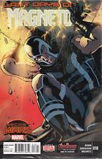 US COMIC PACK MAGNETO 18-21 Marvel secret wars englisch