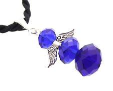 Sibirischer blauer Kristall Schutzengel des Lichts Anhänger
