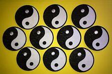 10 Lot Yin Yang Judo Jiu Jitsu Karate Tae Kwon Do Martial Arts Iron On Patches