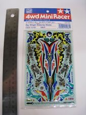 Tamiya Vintage 1/32 mini 4WD Dress-Up Sticker for Ray Stinger
