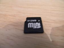 512MB MINI SD MEMORY CARD, BULK