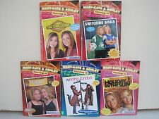 Mary-Kate & Ashley Starring In Books, Lot of 5 Books