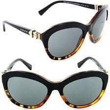 Coach HC 8184 5404/87 Cat Eye Sunglasses Black Tortoise Gradient/Dark Grey Lens