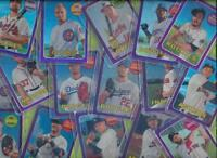 2018 Topps Heritage Purple Refractor  * Your Choice $1.99 - $2.99 Each